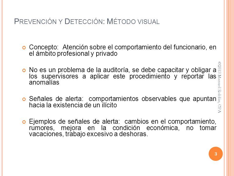 Concepto: Atención sobre el comportamiento del funcionario, en el ámbito profesional y privado No es un problema de la auditoría, se debe capacitar y