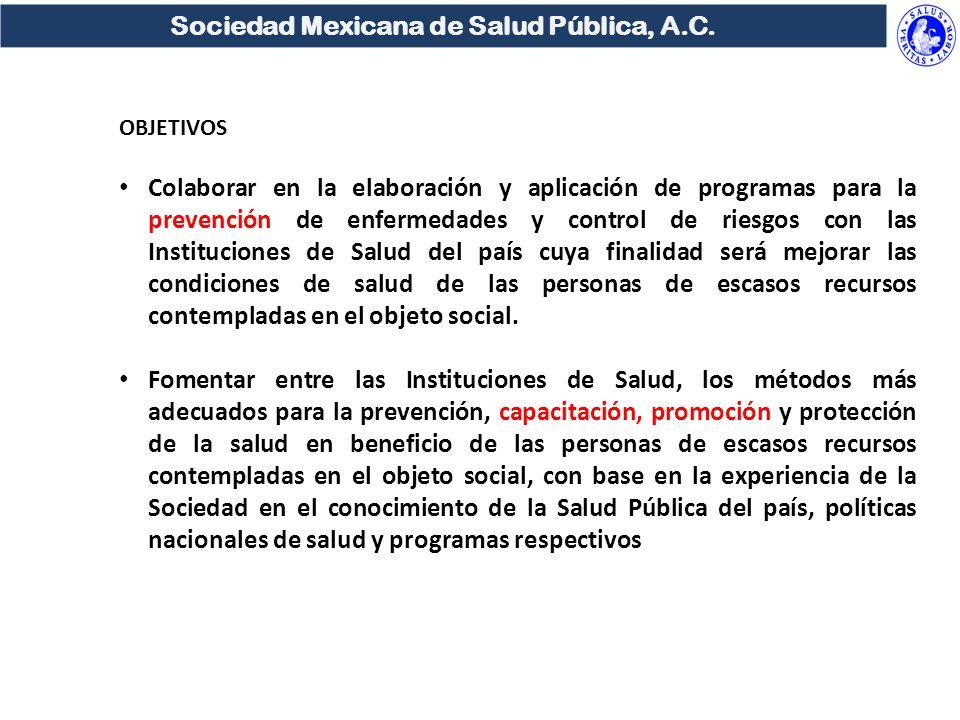 Sociedad Mexicana de Salud Pública, A.C.