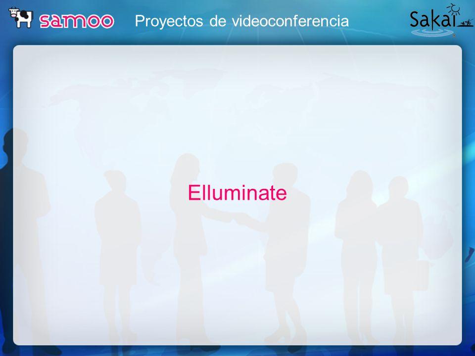 Proyectos de videoconferencia Elluminate