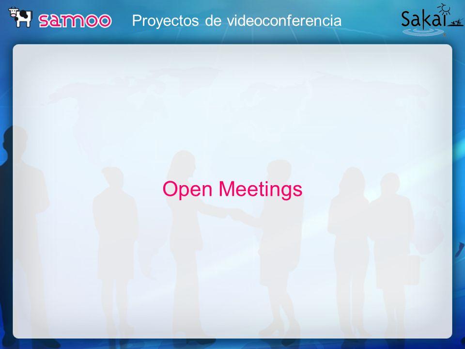 Proyectos de videoconferencia Open Meetings