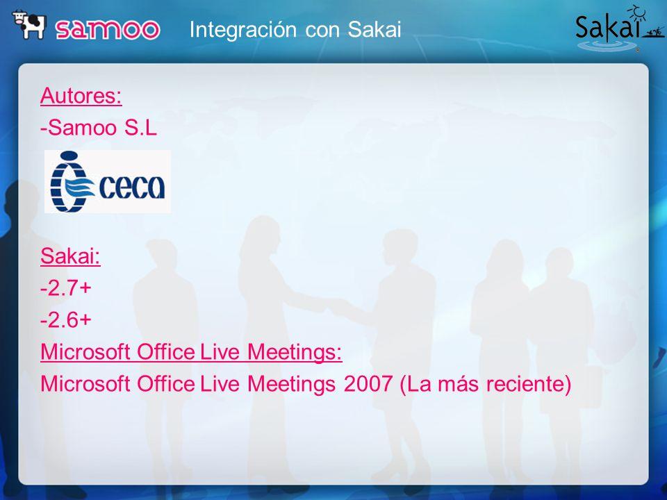 Proyectos de videoconferencia Otras integraciones LMS - Webconference