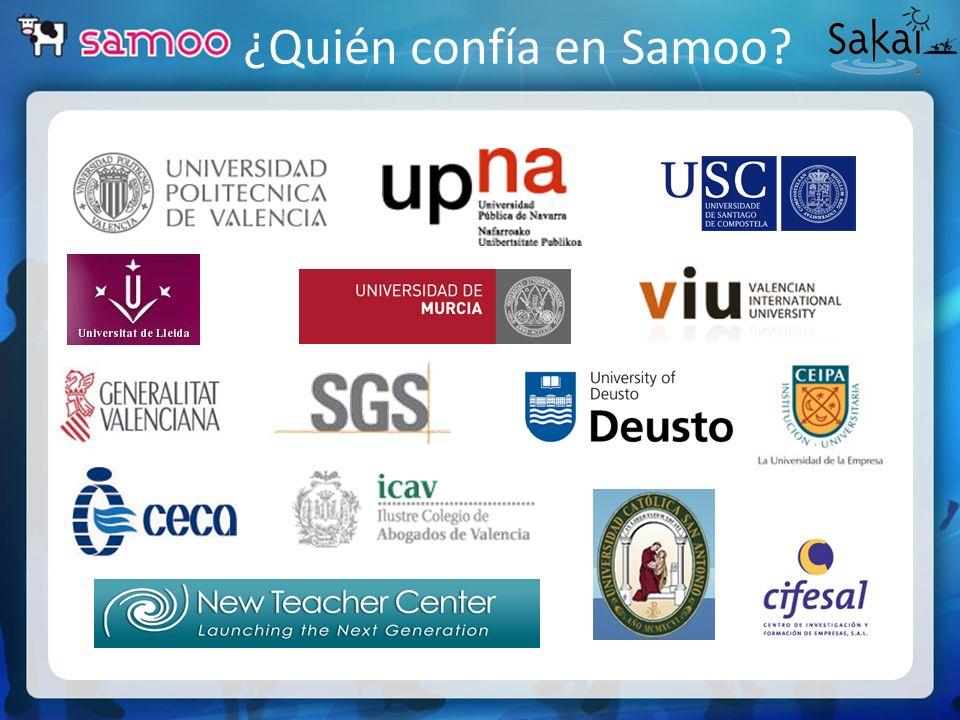 ¿Quién confía en Samoo?