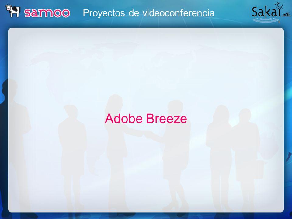Proyectos de videoconferencia Adobe Breeze