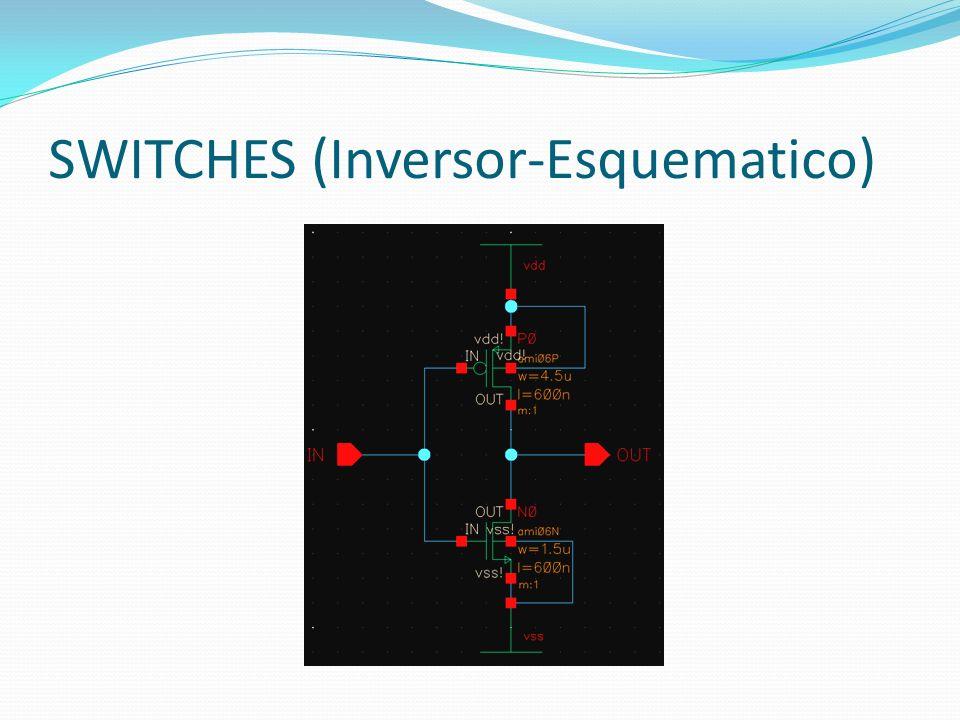 SWITCHES (Inversor-Esquematico)