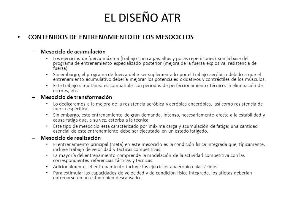 PLANIFICACIÓN CONTEMPORÁNEA: PERIODIZACIÓN TÁCTICA POSTULADOS CLAVE 4.