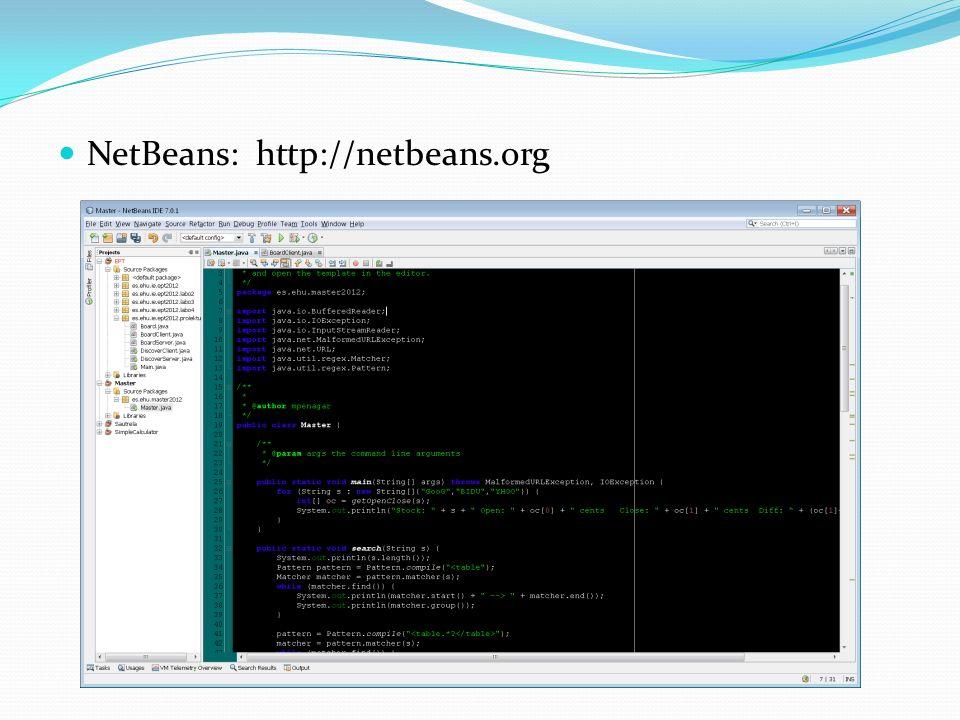 NetBeans: http://netbeans.org