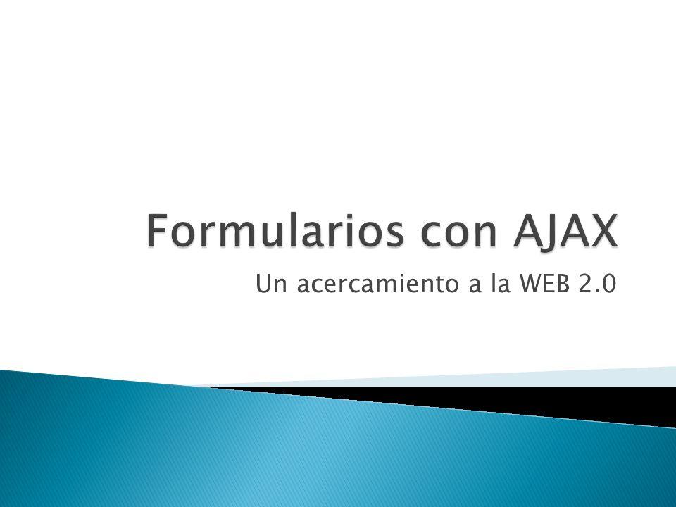 Un acercamiento a la WEB 2.0