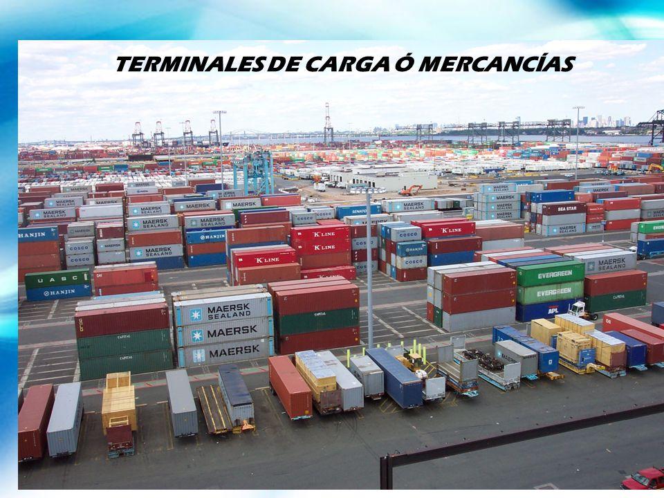 TERMINALES DE CARGA Ó MERCANCÍAS