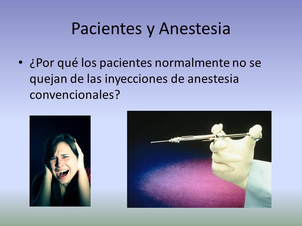 Anestesia Local Es un componente necesario en la práctica odontológica Puede estresar al paciente Puede estresar al dentista Es muy importante para el