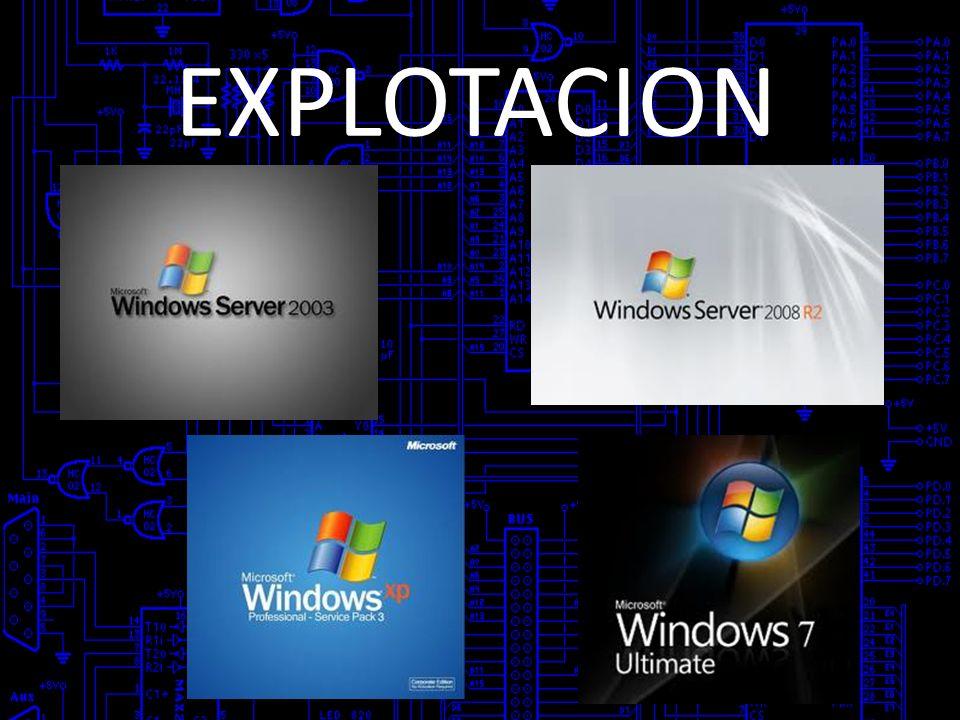 EXPLOTACION