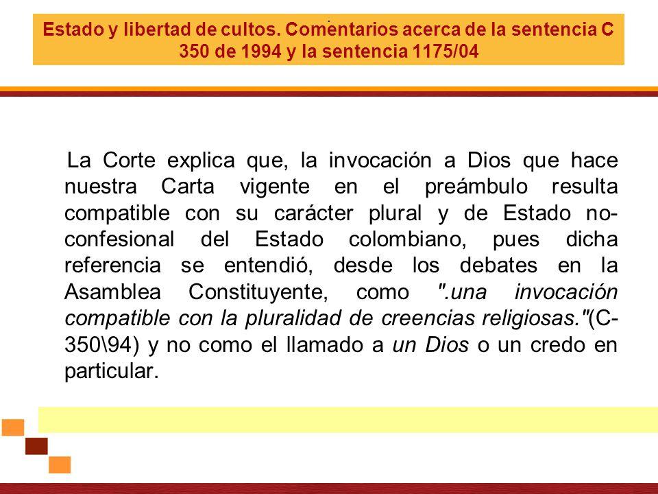 Ley 133 de 1994 Art 2…El Poder Público protegerá a las personas en sus creencias, así como a las Iglesias y confesiones religiosas y facilitará la participación de éstas y aquéllas en la consecución del bien común.