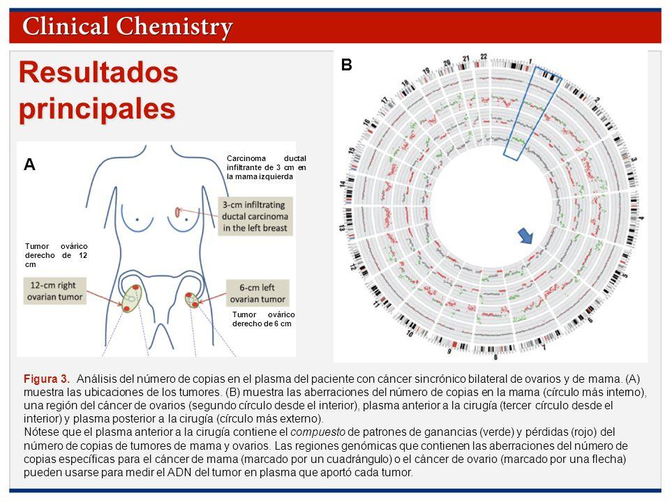 © Copyright 2009 by the American Association for Clinical Chemistry Resultados principales Figura 3. Análisis del número de copias en el plasma del pa