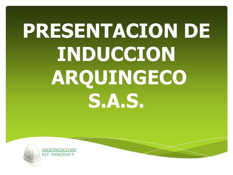Requisitos Necesidades Direccionamiento Estratégico Gestión de HSQ Gerenciales Gestión de RecursosGestión del Talento Humano Apoyo Productos MAPA DE PROCESOS ARQUINGECO SAS.