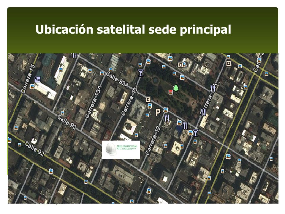 ALCANCE DEL SISTEMA Diseño, desarrollo y construcción de obras de Ingeniería Civil