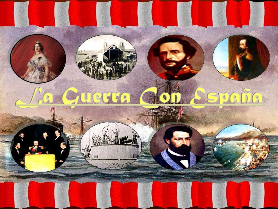 Causas de la Guerra La esperanza española de pretender restaurar su vieja política colonial.