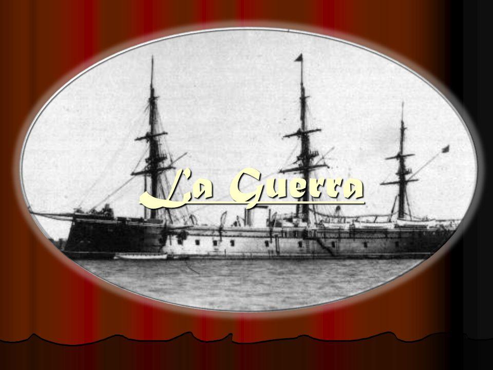 Acciones Iníciales El aliado barco chileno, Esmeralda, logra capturar la nave española Covadonga, ante la derrota, el almirante español José Manuel Pareja se suicidó siendo reemplazado por el brigadier Casto Méndez Núñez, comandante del blindado Numancia.