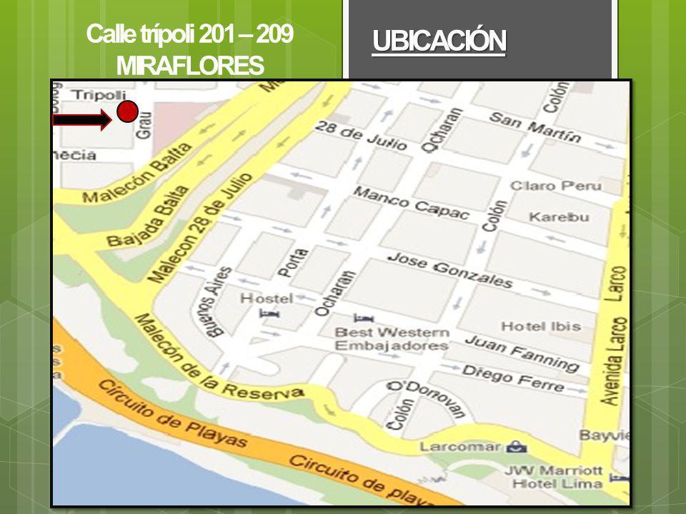 Larcomar UBICACIÓN Calle trípoli 201 – 209 MIRAFLORES