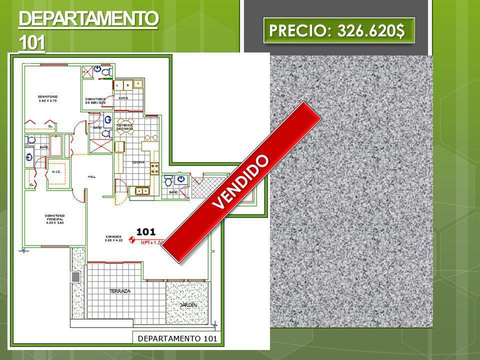 PRECIO: 334.440$ DEPARTAMENTO 501.Área: 156.40m2 Con ascensor directo al departamentos.