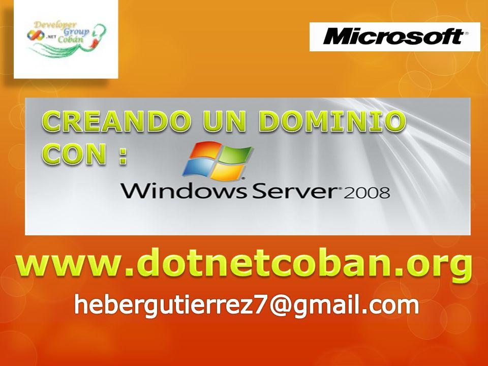 Agenda Windows Server 2008 Ediciones y Requerimientos Tecnologías Gropos de Trabajo vrs.