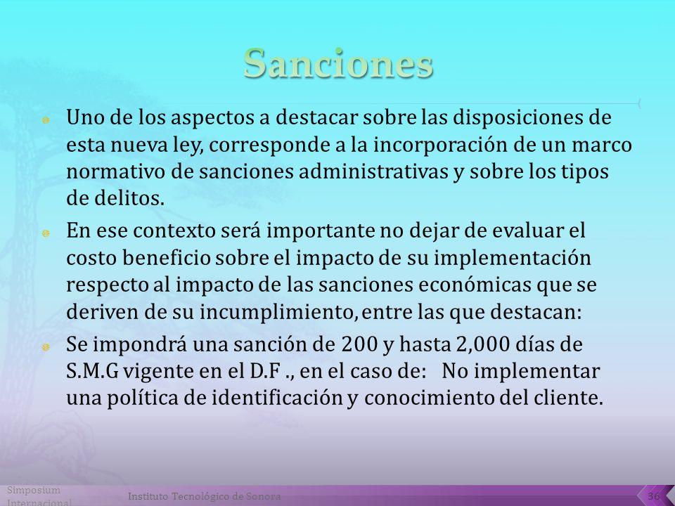Uno de los aspectos a destacar sobre las disposiciones de esta nueva ley, corresponde a la incorporación de un marco normativo de sanciones administrativas y sobre los tipos de delitos.