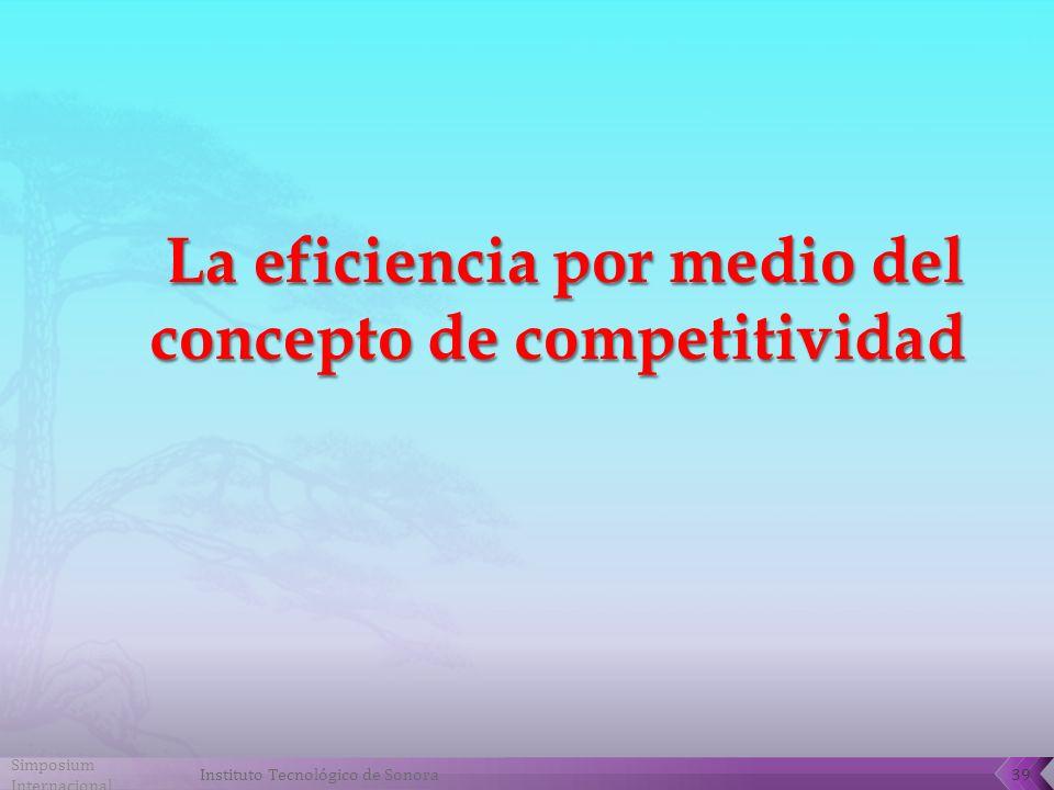 Simposium Internacional 39Instituto Tecnológico de Sonora