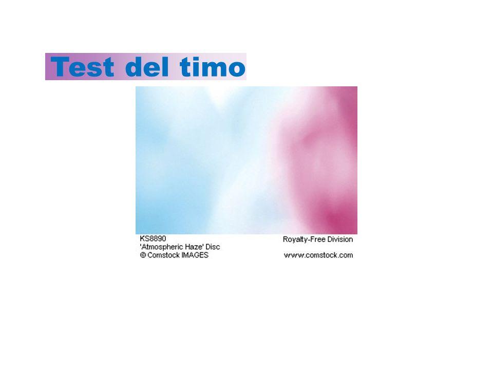 Test del timo