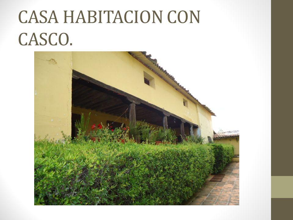 CASA HABITACION CON CASCO.