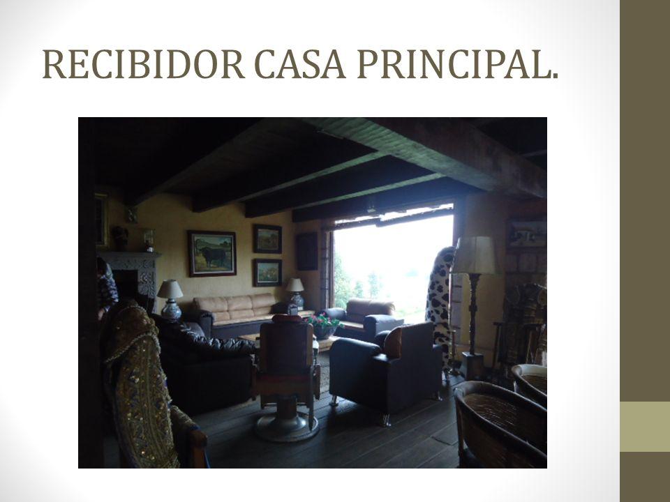 RECIBIDOR CASA PRINCIPAL.