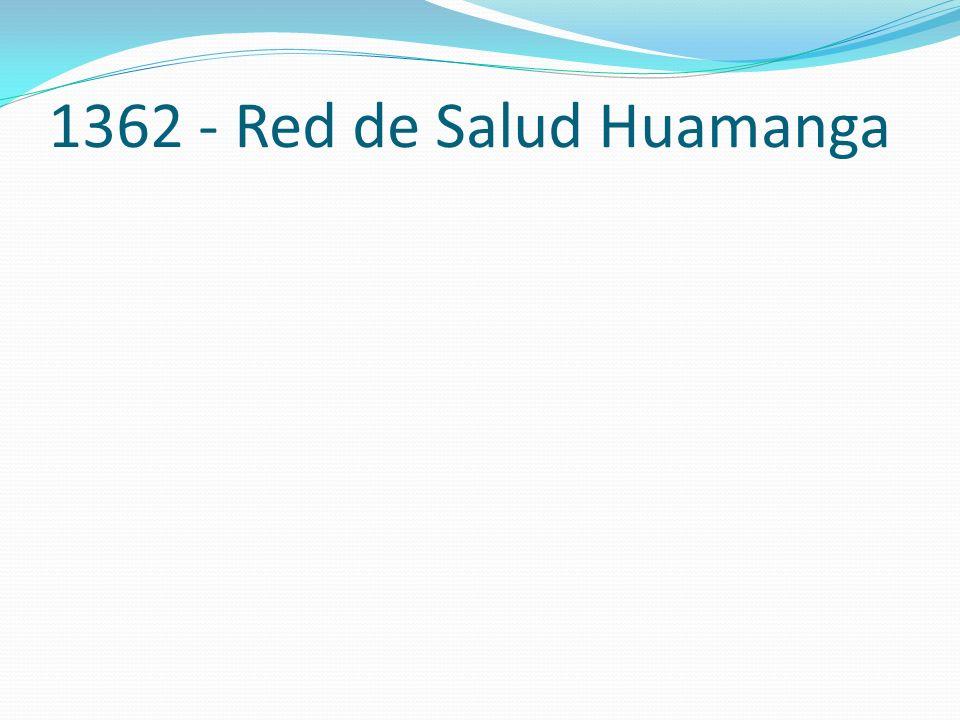 1362 - Red de Salud Huamanga