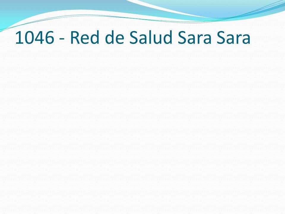 1046 - Red de Salud Sara Sara