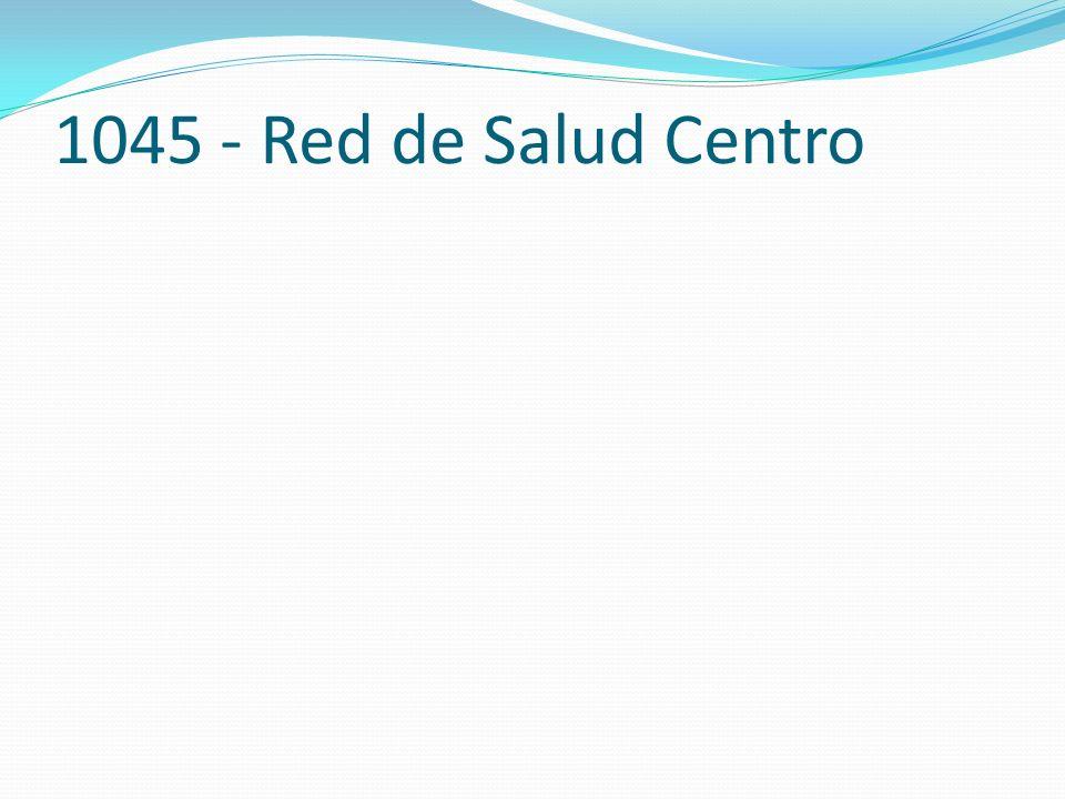 1045 - Red de Salud Centro