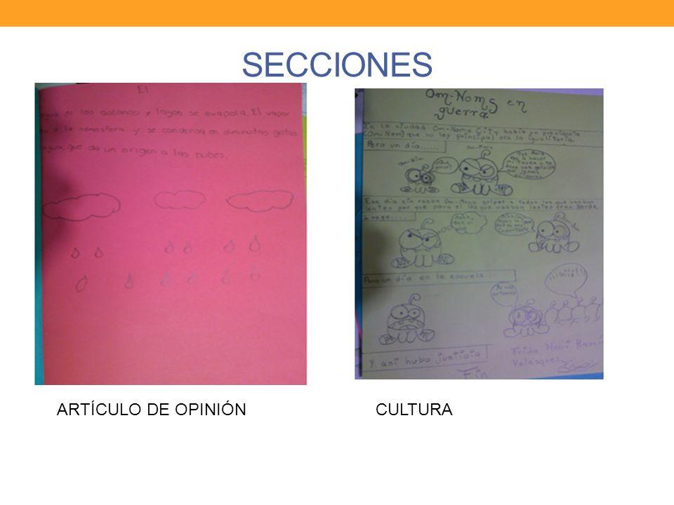 SECCIONES ARTÍCULO DE OPINIÓNCULTURA