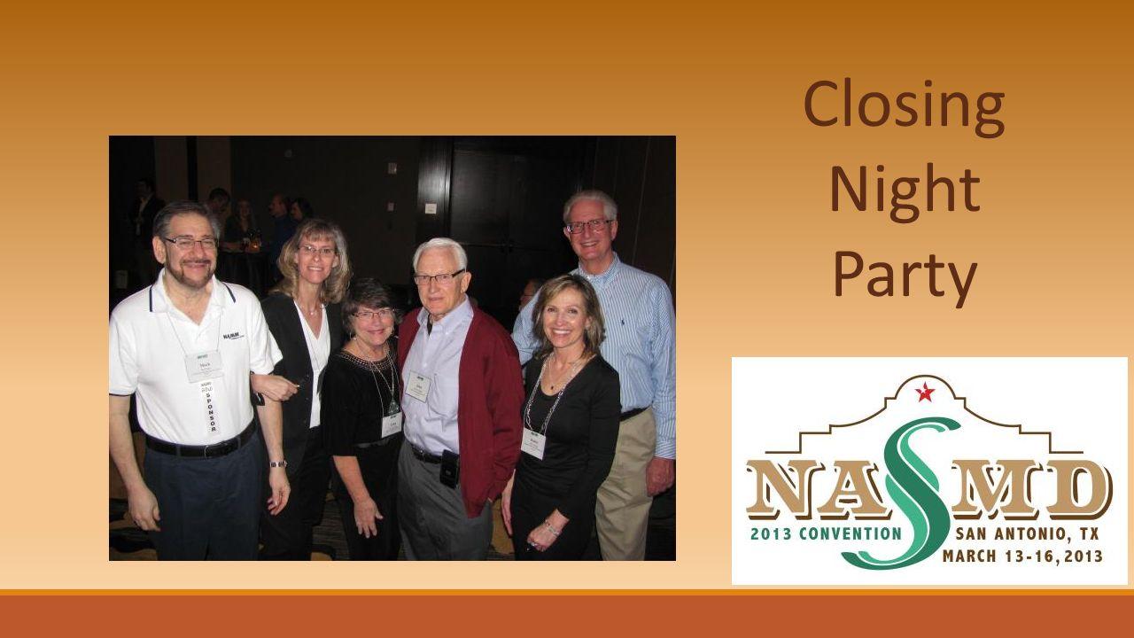 Closing Night Party