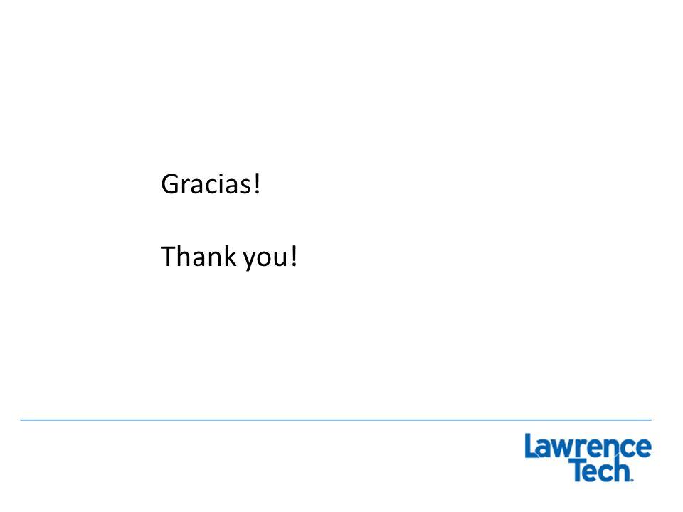 Gracias! Thank you!