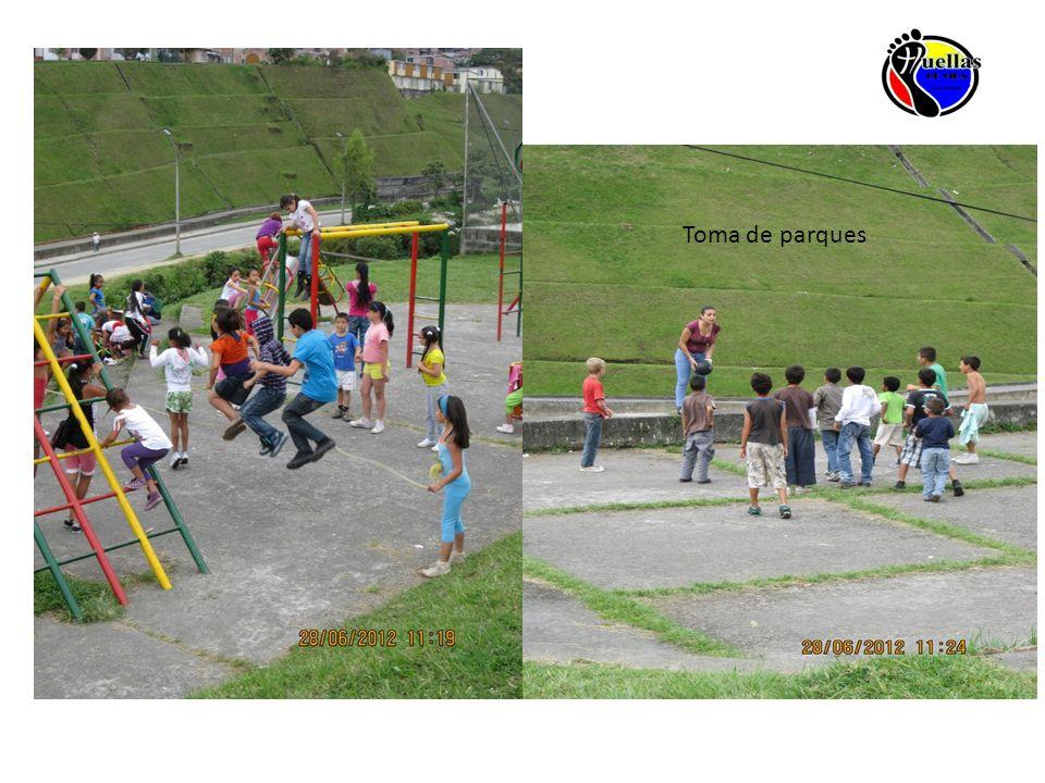Toma de parques