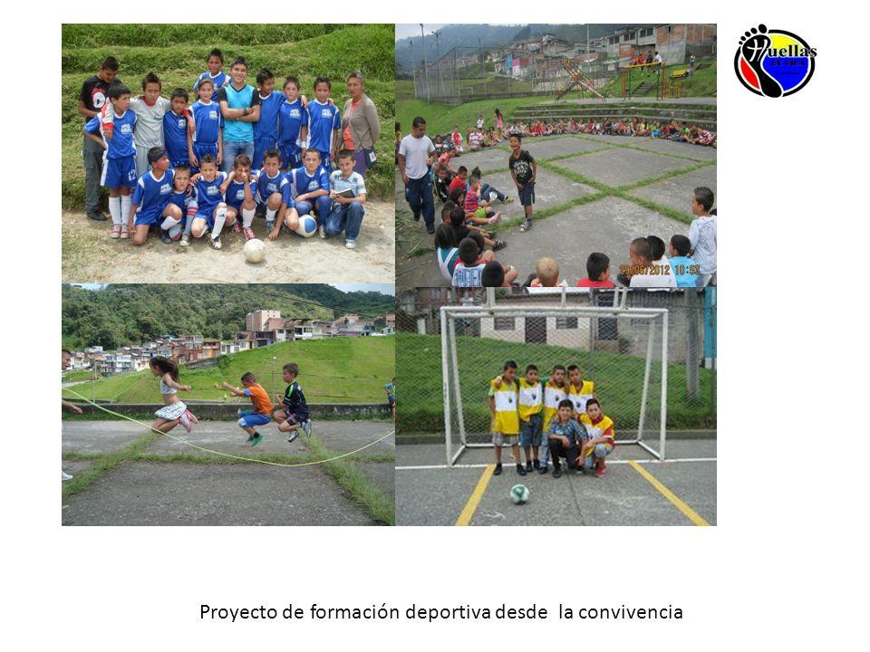 Proyecto de formación deportiva desde la convivencia