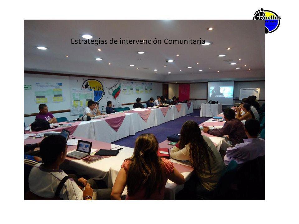 Estrategias de intervención Comunitaria