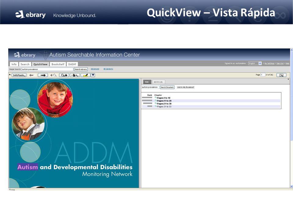 QuickView – Vista Rápida