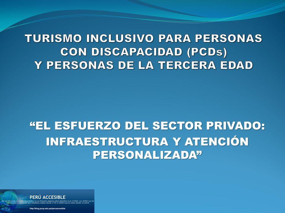 EL ESFUERZO DEL SECTOR PRIVADO: INFRAESTRUCTURA Y ATENCIÓN PERSONALIZADA