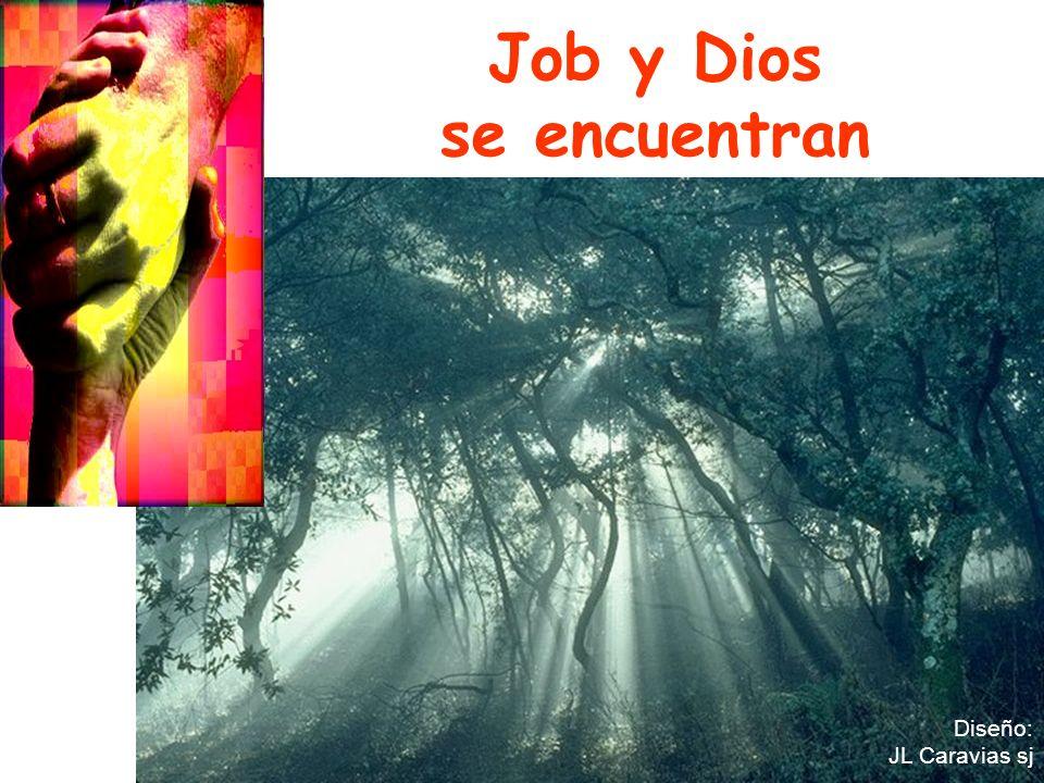 Job y Dios se encuentran Diseño: JL Caravias sj