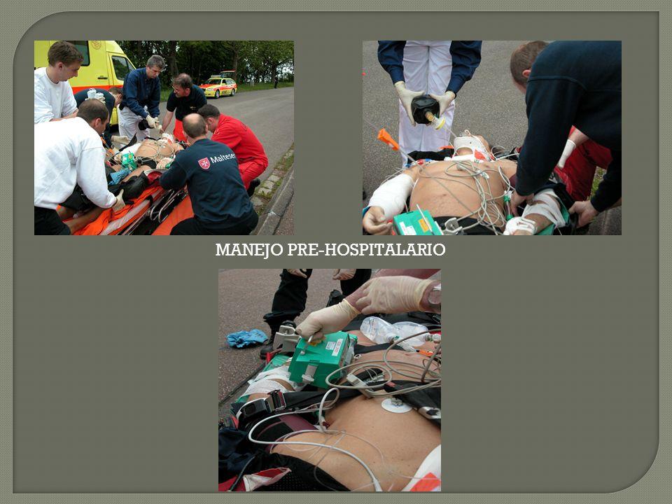 MANEJO PRE-HOSPITALARIO