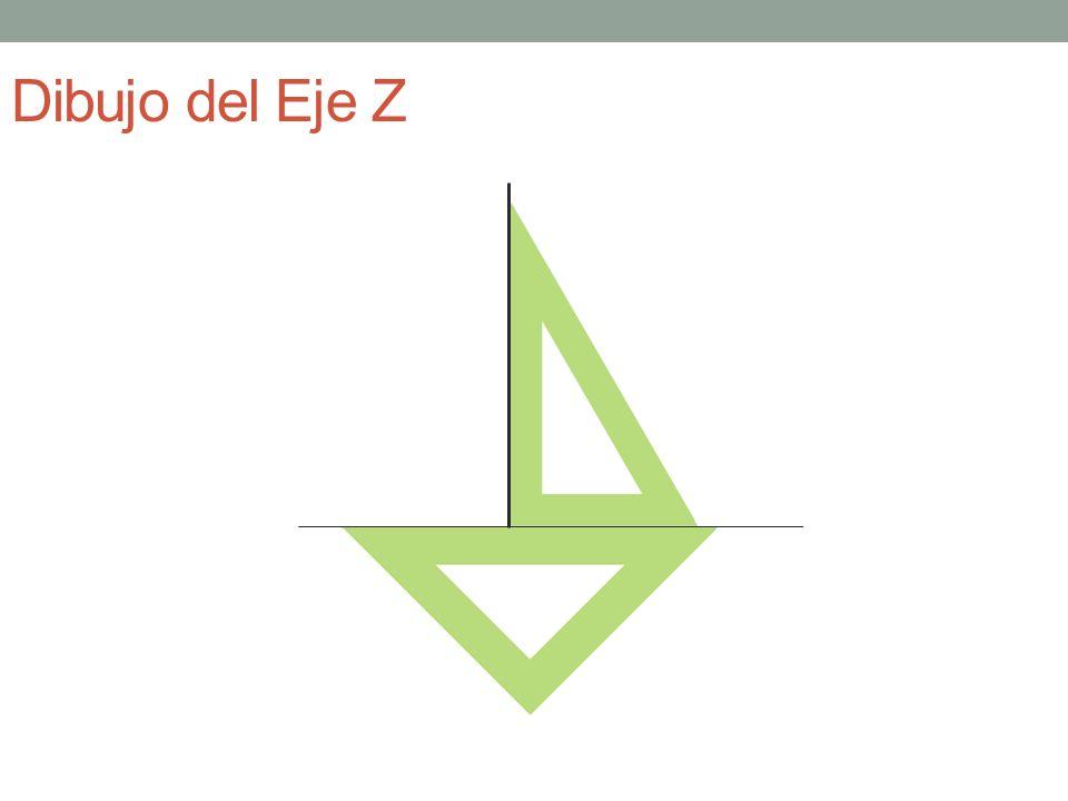 Dibujo del Eje Z