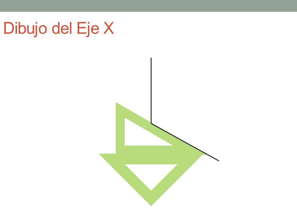 Líneas paralelas al eje X Eje Y Eje Z