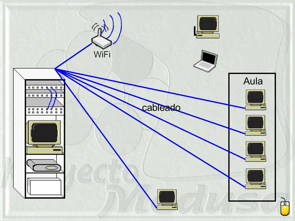 Aula cableado WiFi