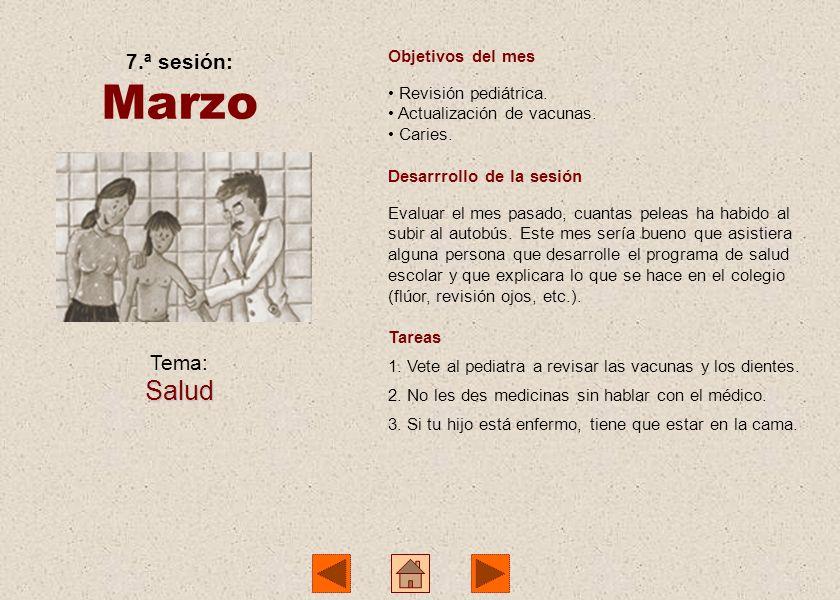 Tema: Peleas y conflictos 6.ª sesión: Febrero Objetivos del mes Los castigos, para qué sirven y de qué manera. Las peleas en el colegio y fuera de él.