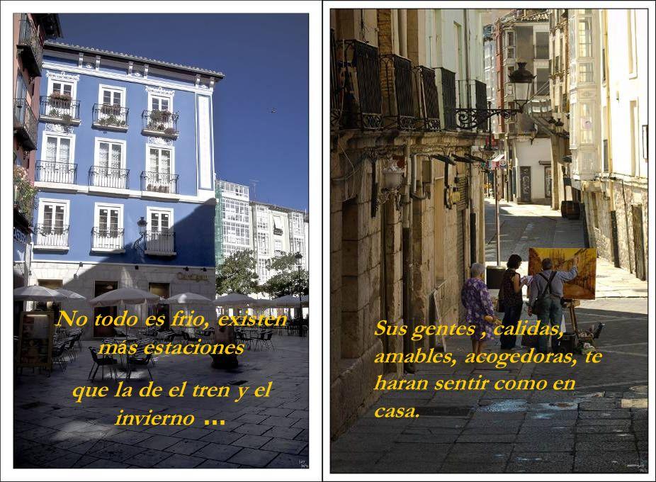 Burgos, plagada de bellos rincones, es otra historia, diferente a lo que te han contado … Pasear por sus calles y plazas, te hace sentir el embrujo del pasado