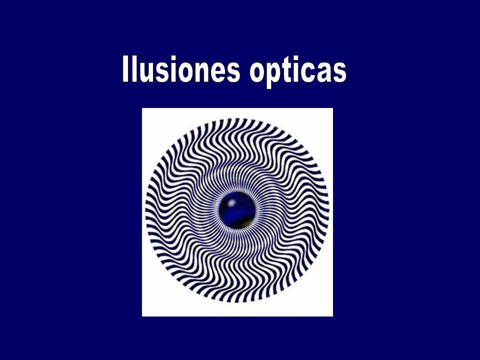 GENERALIDADES: Ilusión óptica es cualquier ilusión del sentido de la vista, que nos lleva a percibir la realidad erróneamente.