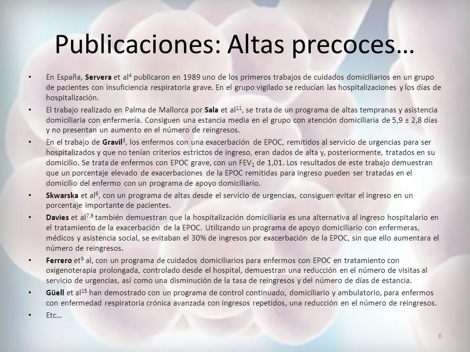 Bibliografía 1.Ballester F, Pérez-Hoyos S, Rivera ML, Merelles T, Tenías JM, Soriano JB et al.