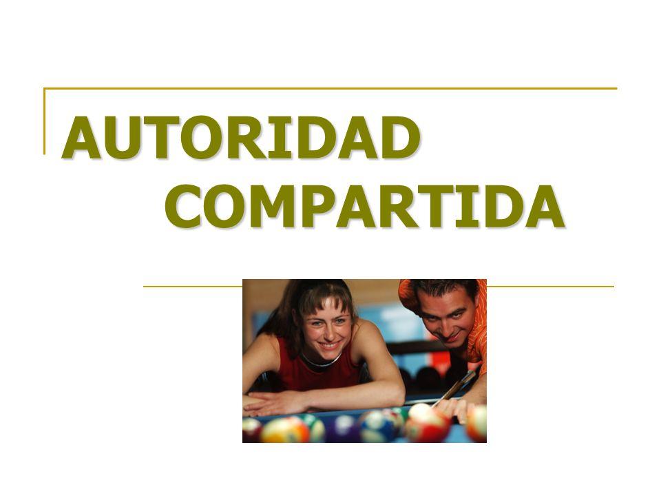 AUTORIDAD COMPARTIDA