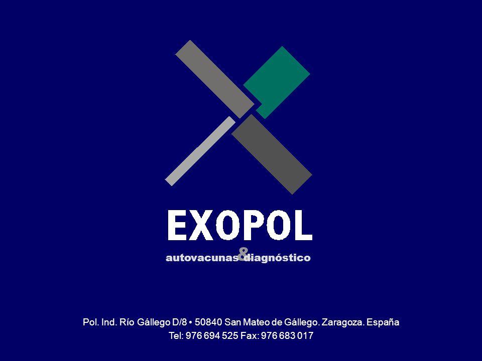 www.exopol.com Toma de Muestras Patología Clínica Pol. Ind. Río Gállego D/8 50840 San Mateo de Gállego. Zaragoza. España Tel: 976 694 525 Fax: 976 683